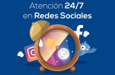 soporte  en redes sociales