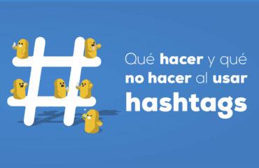 Qué hacer y qué no hacer al usar hashtags