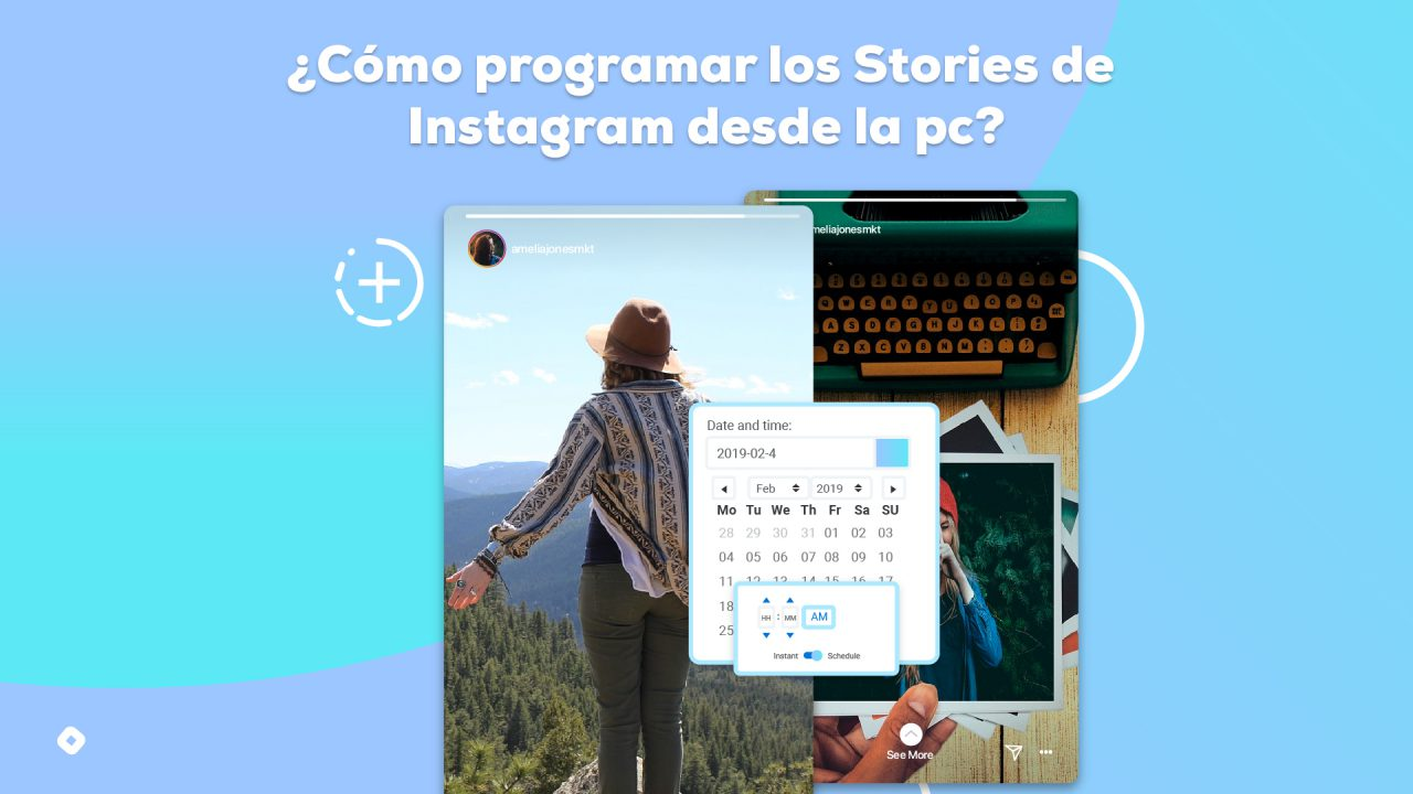 programar Stories de Instagram