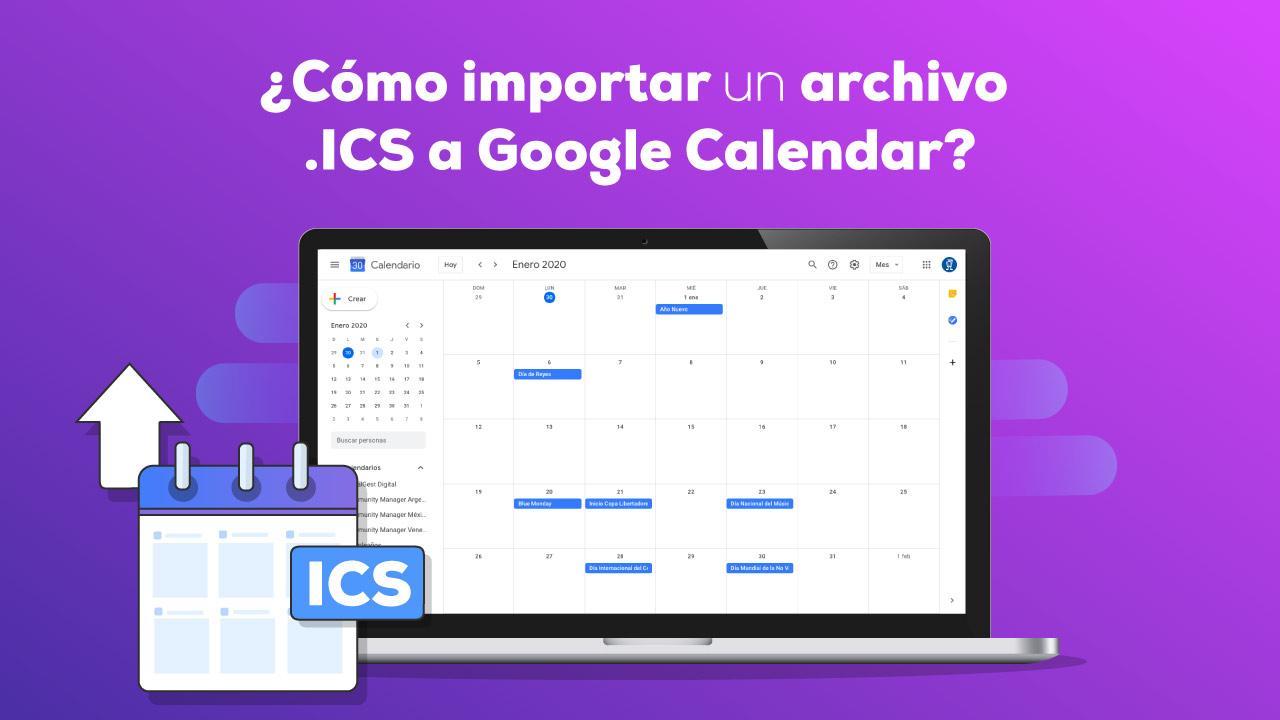 Importar eventos Google Calendar