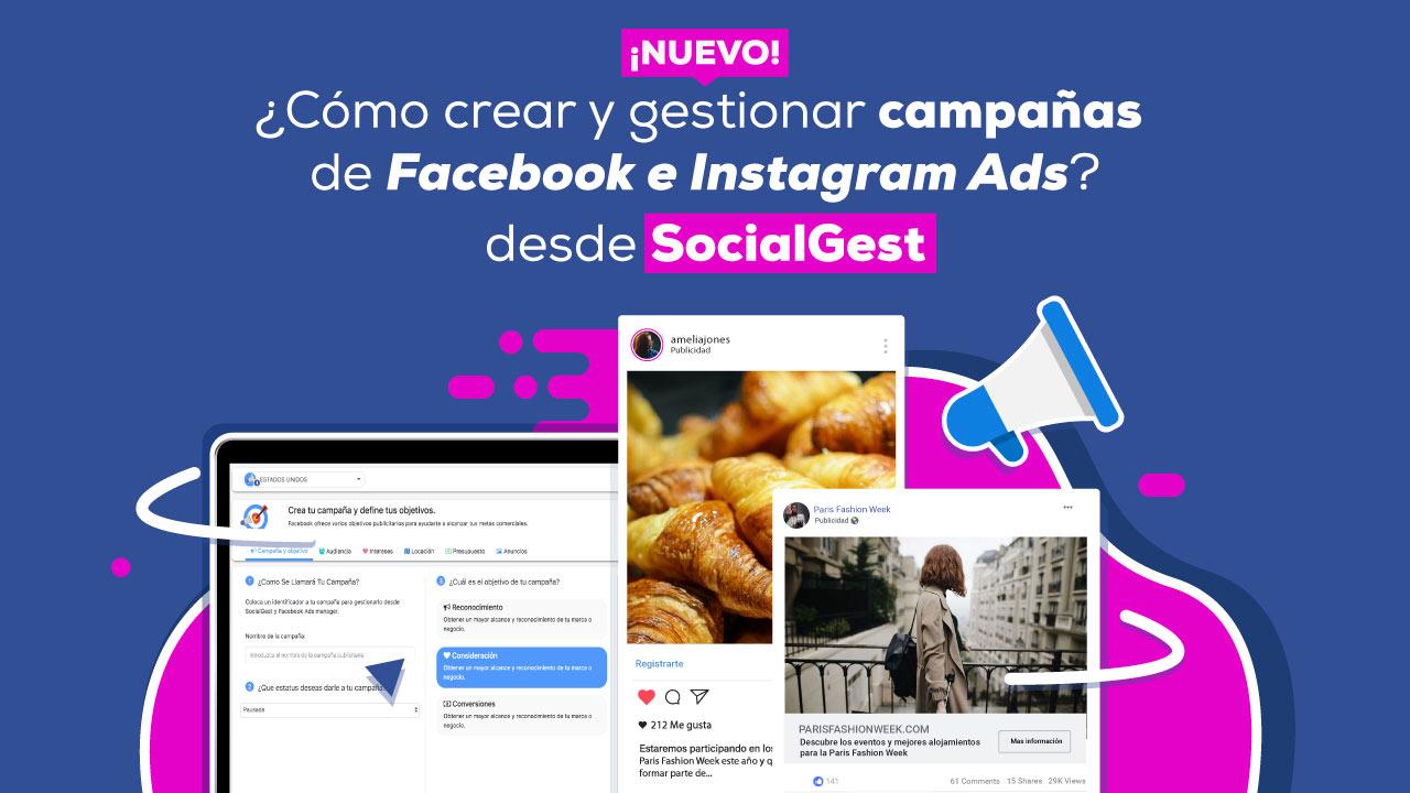 Como Crear Campañas de Facebook e Instagram Ads
