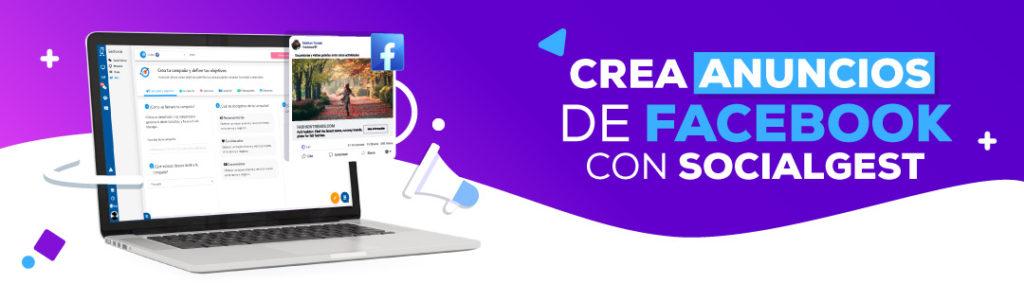 banner crea anuncios facebook con socialgest