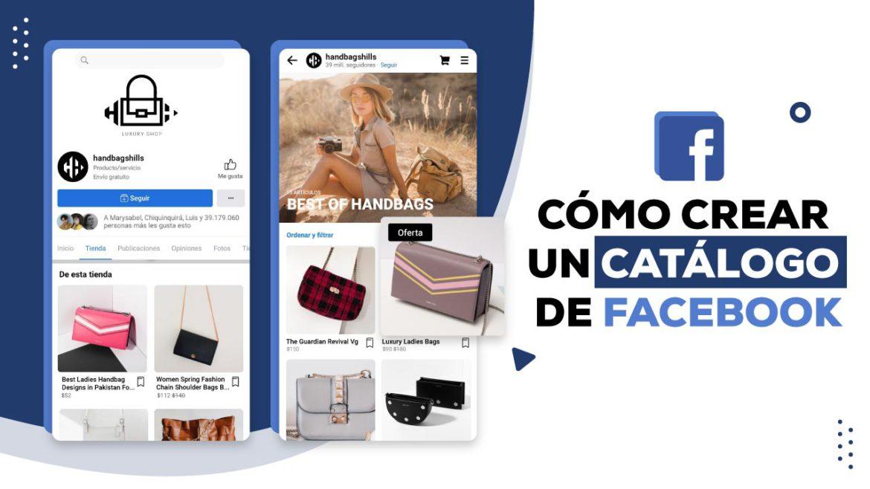 catálogo de Facebook crear y promocionar