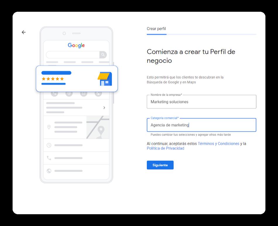 crear perfil en google my business