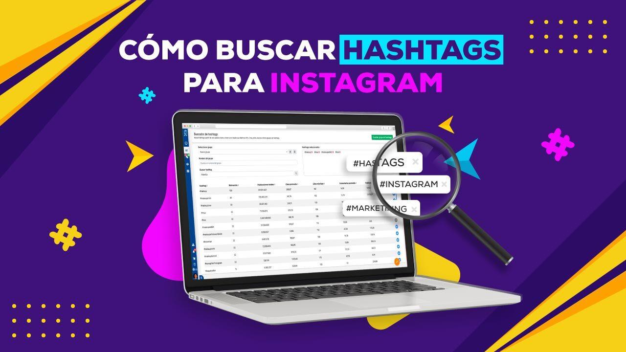 como buscar hashtags para instagram