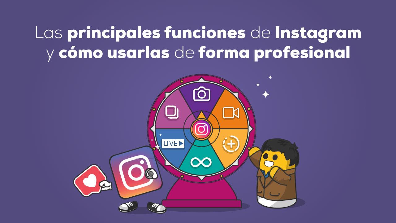 funciones instagram