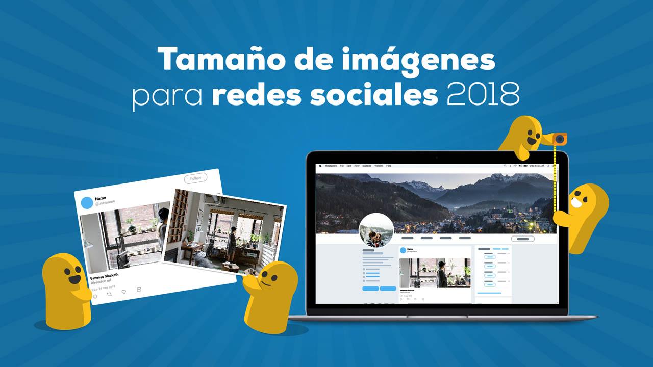 Tamaños y formatos de imágenes para redes sociales 2018