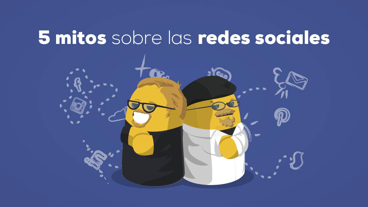 Mitos sobre las redes sociales