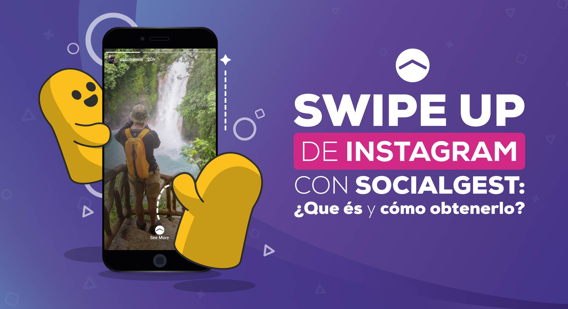 Swipe up Instagram SocialGest