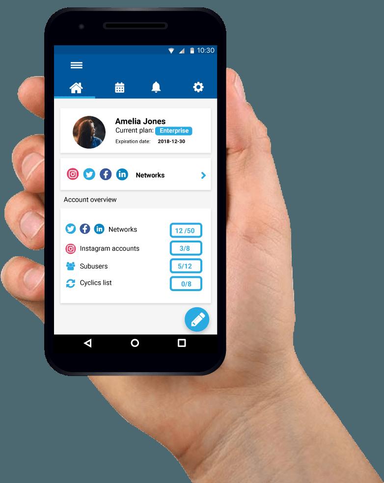 SocialGest Mobile