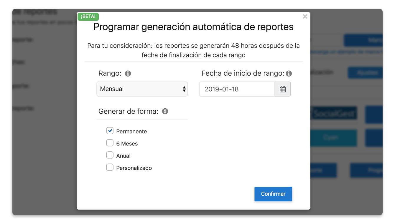 programa reportes PDF